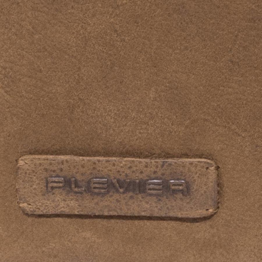 Plevier Laptoptas 15 6 inch  Volnerf Crunch Leer 2-vaks Cognac