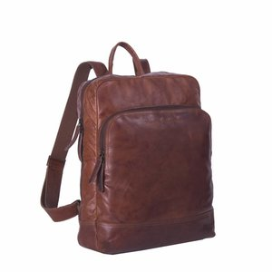 Chesterfield Chesterfield Bags Laptop Rugzak Maci Cognac