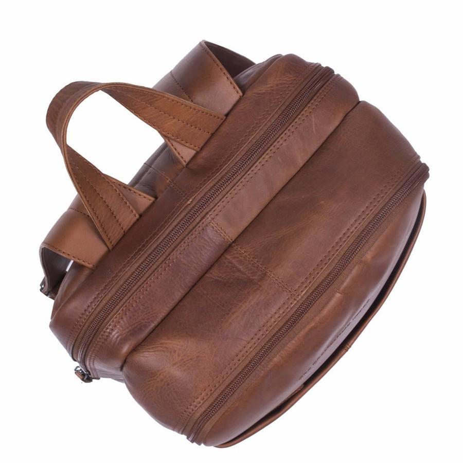 Chesterfield Bags Leren Rugzak Dex Cognac