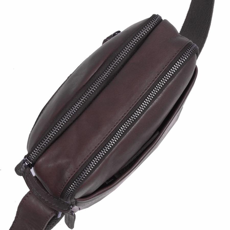 Chesterfield Bags Schoudertasje Alva Bruin
