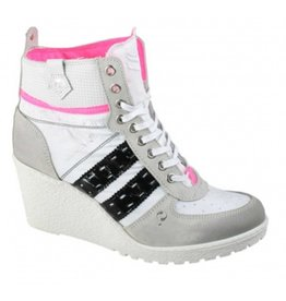 Quick Dutch Fabulous White Ice Black sneakers dames