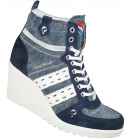 Quick Dutch Fabulous Blue sneakers dames