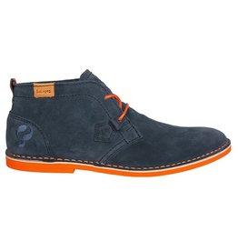 Quick Sorano Dark Denim Orange heren schoenen