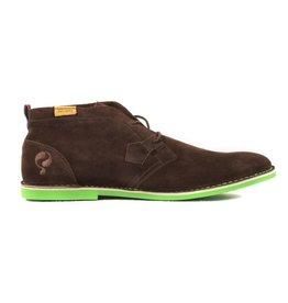 Quick Sorano DK brown heren schoenen