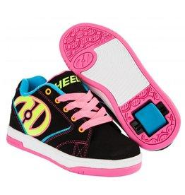 Heelys Propel 2.0 zwart neon multi sneakers kids