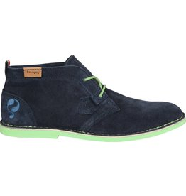 Quick Sorano Deep navy Deep mint schoenen heren