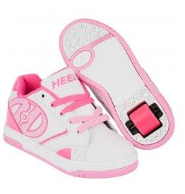 Heelys Propel 2.0 wit roze sneakers meisjes