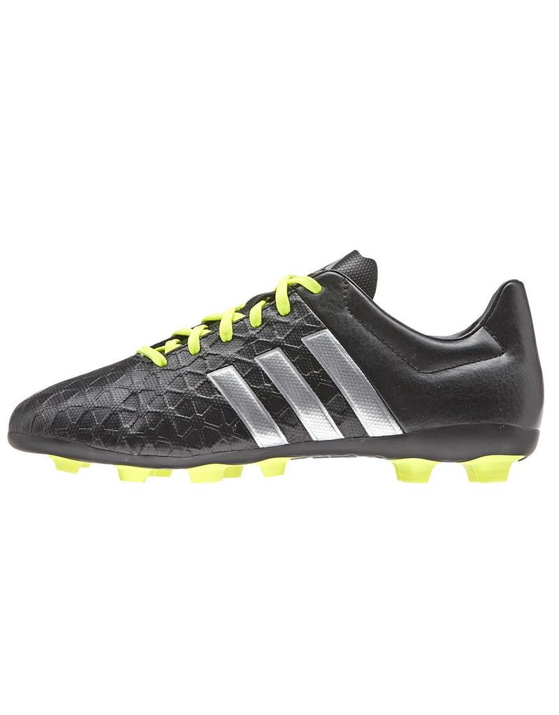Adidas Adidas Ace 15.4 J FxG zwart voetbalschoenen kids (B32865)