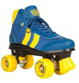 Rookie Retro V2 blauw geel rolschaatsen