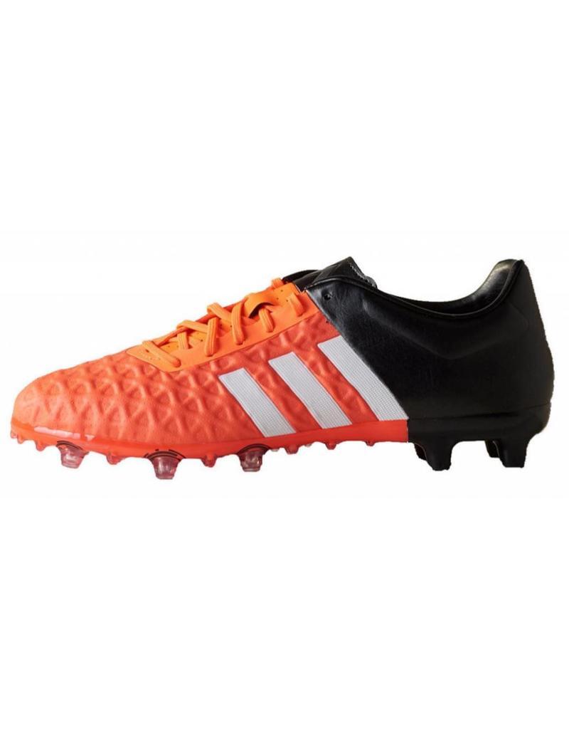 Adidas Adidas Ace 15.2 FG/AG zwart oranje voetbalschoenen heren (S83254)