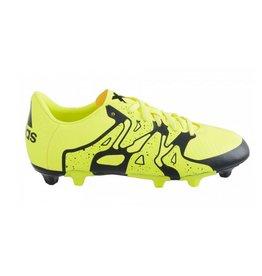 Adidas X 15.3 FG/AG J geel voetbalschoenen kids