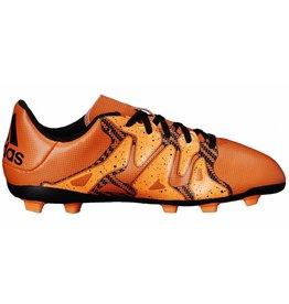 Adidas X 15.4 FG J oranje voetbalschoenen kids