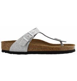 Birkenstock Gizeh Magic Galaxy BF zilver slippers dames