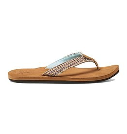 Reef Gypsylove Teal mint slippers dames