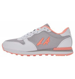 LA Gear Paradise Grey Peach sneakers dames