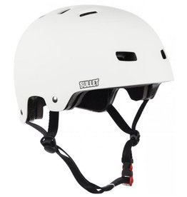 Bullet Deluxe Helmet T35 adult wit veiligheidshelm