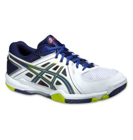 Asics Gel Task wit indoor schoenen heren