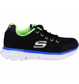 Skechers Fine Tune BKLM zwart sneakers jongens