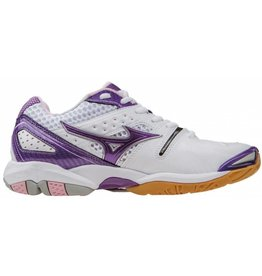 Mizuno Wave Tornado 9 wit indoor schoenen dames