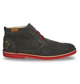 Quick Sorano II iron grey rosso heren schoenen