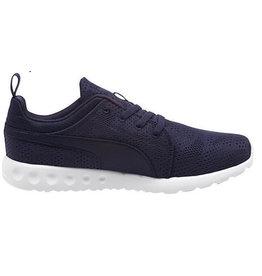 Puma Carson Runner Camo Mesh blauw sneakers uni