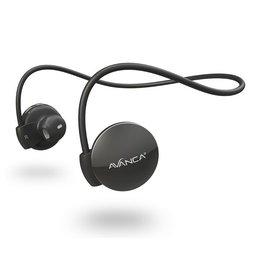Avanca sportaccessoires S1 draadloze sport headset zwart uni