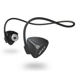 Avanca sportaccessoires D1 draadloze sport headset zwart uni