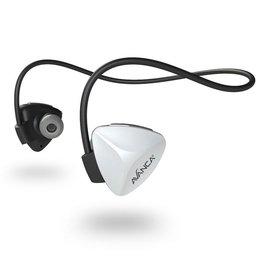 Avanca sportaccessoires D1 draadloze sport headset wit uni