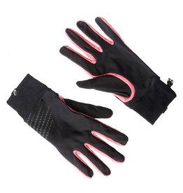 Asics Basic Performance hardloophandschoenen zwart roze dames