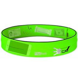 Flipbelt Runners waistbelt neon groen uni