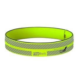 Flipbelt Runners waistbelt reflecterend neon geel uni
