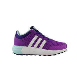 Adidas Neo Cloudfoam Race K paars sneakers baby peuter