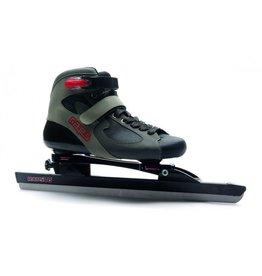 Raps Comfort V6 zwart klap-vaste schaatsen uni