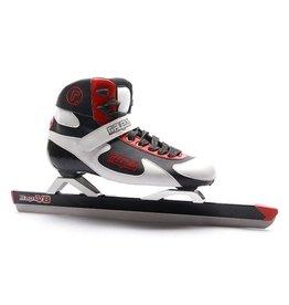 Raps High Top V8 zwart wit vaste schaatsen uni