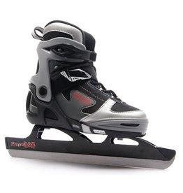 Raps Kids V4 Longtrack zwart verstelbare schaatsen