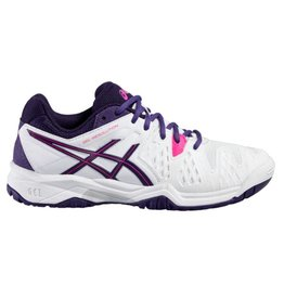 Asics Gel Resolution 6 GS wit tennisschoenen kids