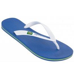 Ipanema Classic Brasil blauw wit slippers heren