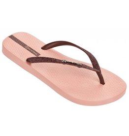 Ipanema Lolita roze bruin slippers dames