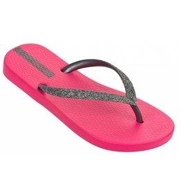 Ipanema Lolita roze zilver slippers meisjes