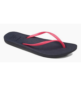 Reef Escape Lux charcoal pink slippers dames