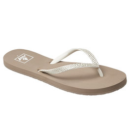 Reef Stargazer Sassy Taupe Grey slippers dames