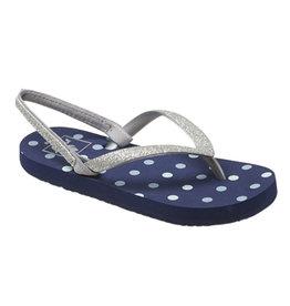 Reef Little Stargazer PRI blue dots slippers meisjes