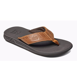 Reef Phantom Leather brown slippers heren