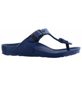 Birkenstock Gizeh Eva narrow blauw slippers kids