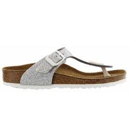 Birkenstock Gizeh Magic Galaxy Silver Narrow BF slippers meisjes