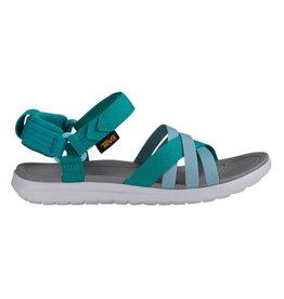 Teva W Sanborn teal sandalen dames