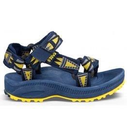 Teva T Hurricane 2 blauw geel sandalen kids