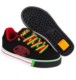 Heelys Motion Plus zwart reggae sneakers kids