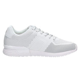 Björn Borg R100 Low KNT W wit sneakers dames