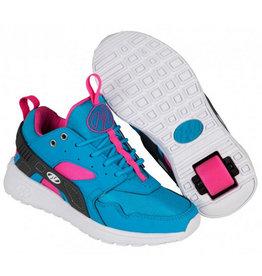 Heelys Force aqua grijs roze sneakers kids
